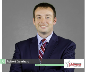 Bob Gearhart Jr. Named 2018 Rising Star in Advising