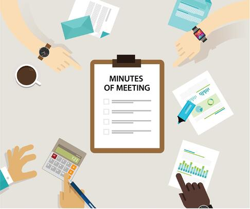 How to take minutes of meeting
