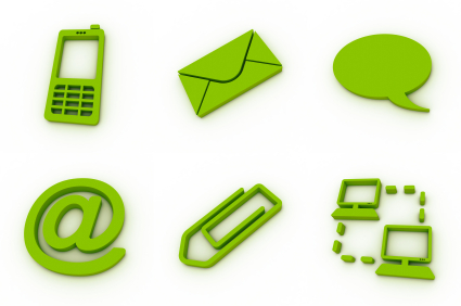 Green Communications Icons