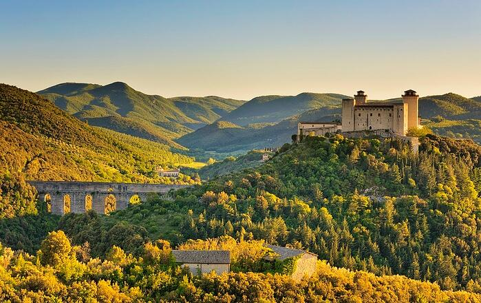 DHvillas-About Spoleto a city in the Umbria region
