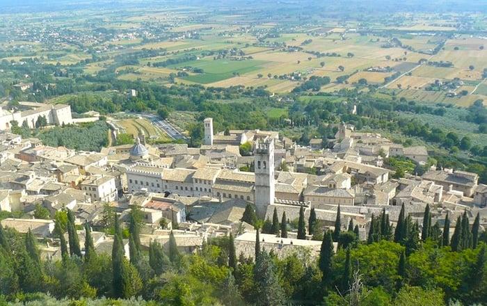 DHvillas-Assisi the city of Saint Francis