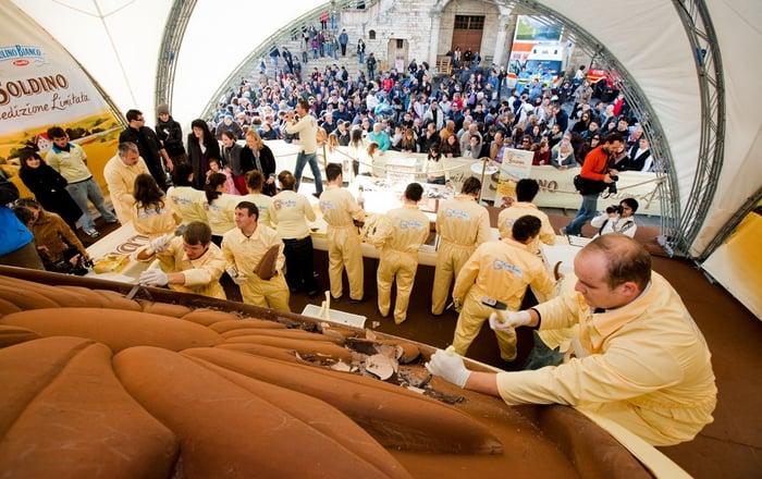 DHvillas-Eurochocolate festival in Perugia