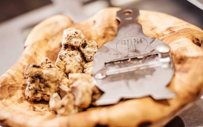 DH Villas - Regole e suggerimenti per degustare il tartufo