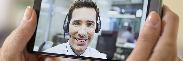 Online video chat enhances customer service