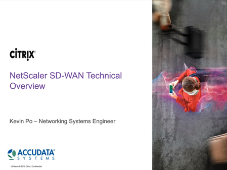 Citrix SD-WAN [Webinar]