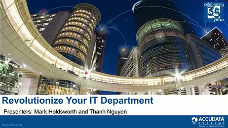 Top Ways to Revolutionize Your IT Department: Overcoming the IT M&A Slowdown [Webinar]