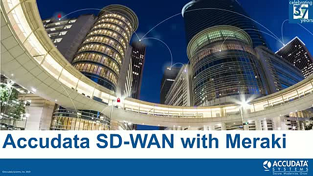 SD-WAN the Accudata Way