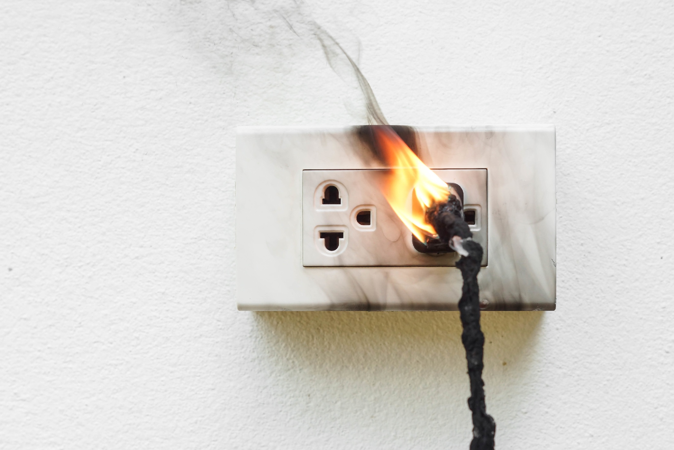 image representing How to Prevent Electrical Fires in Your Rental Home
