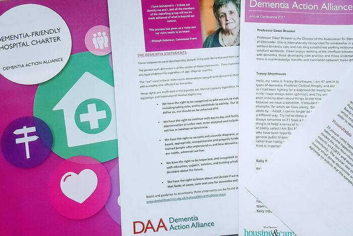 The Dementia Statements: how to move rhetoric into reality
