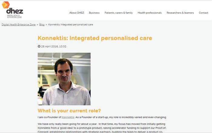 DHEZ profiles Konnektis following IoT UK Boost win