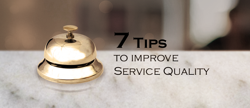 improving service quality in hotel and Improving service quality in hotel and resort executive summary the first chapter of report will explain the purpose of the report and why this report is important.