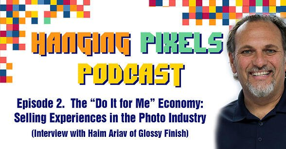 Hanging Pixel Podcast - Episode 2 with Haim Ariav