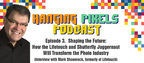 Hanging Pixel Podcast - Episode 3 Featuring Mark Schoenrock