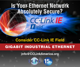 Inherently, absolutely secure–CC-Link IE Field