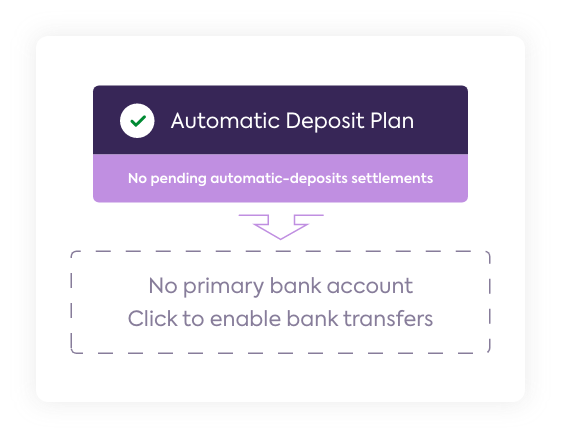Adding bank account details in Sezzle