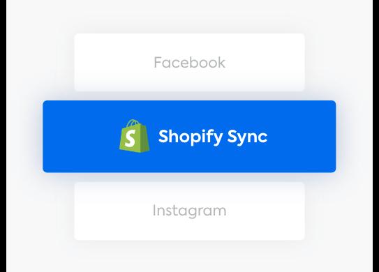 Shopify Sync tab