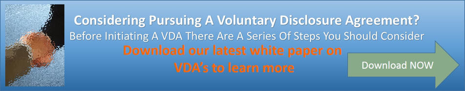 Voluntary Disclosure Agreements Vdas Can Be A Good Business Decision