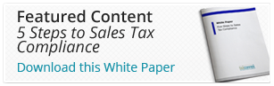 5 Steps to Sales Tax Compliance