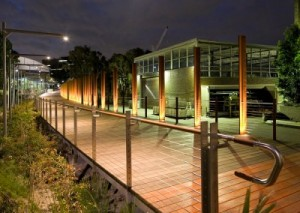 Stainless Steel Structural Rod Systems in Entrance Structures