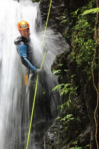 What is rappelling rope?