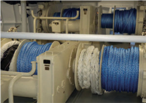 Industrial uses of ropes