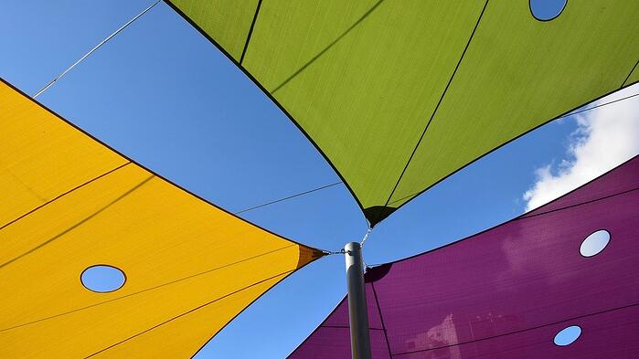 fabric shade structures