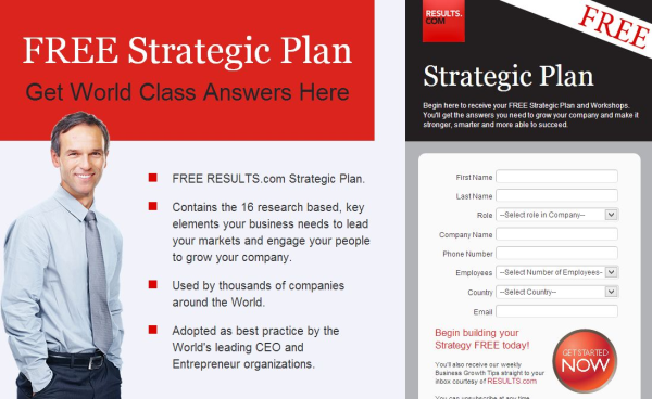 RESULTS.com One Page Strategic Plan