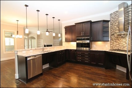 Custom home building and design blog home building tips for Kitchen ideas no island