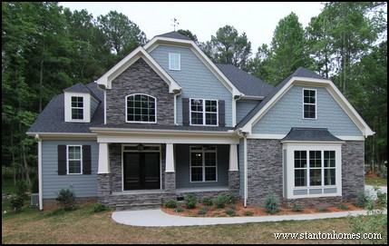 Custom home building and design blog home building tips - Craftsman style house characteristics ...
