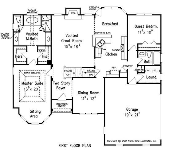 Main Floor Master Home Plan: Custom Home Building And Design Blog