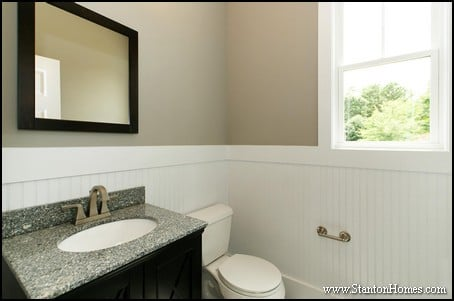 5 top bathroom wainscoting ideas for Wainscoting bathroom ideas