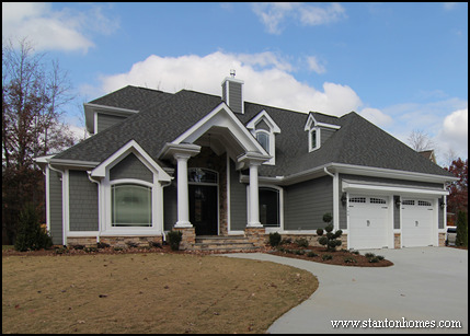 10 popular exterior styles craftsman house plans for Most popular house styles