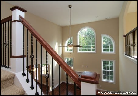 Custom home building and design blog home building tips Two story living room decorating ideas
