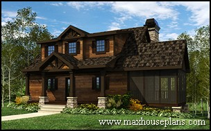 Craftsman, Lake, and Cottage Home Plans | Max Fulbri