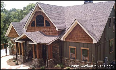 Craftsman Lake Cottage Custom Home Plans Max Fulbright
