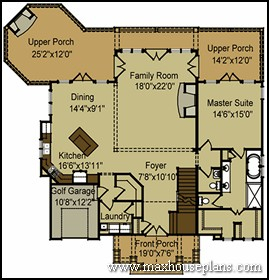 Craftsman lake cottage custom home plans max fulbright for Mountain lake house plans
