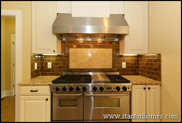Kitchen Range Hood Design Ideas likeable cool kitchen range hood design ideas also antique pendant lamp with wood hoods for Kitchen Ranges With A Hood 2012 Kitchen Design Trends
