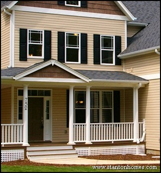 Most popular types of window grids prairie colonial for Craftsman colonial style homes