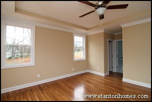 Master Bedroom Tray Ceiling trey ceiling ideas for the master bedroom | nc new homes