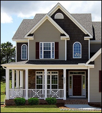 Most popular new home exteriors exterior siding types for Type of siding board
