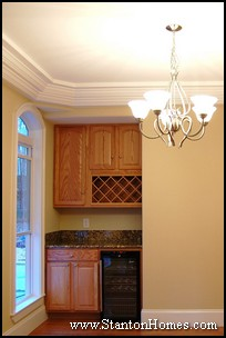 Butlers Pantry with Wine Rack