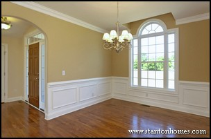 How to Add Wainscoting Open House
