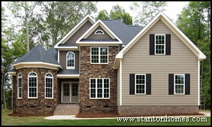Most popular new home exteriors exterior siding types Types of stone for home exterior