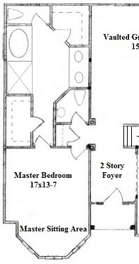 Master suite trends top 5 master suite designs Master bedroom with sitting area floor plans