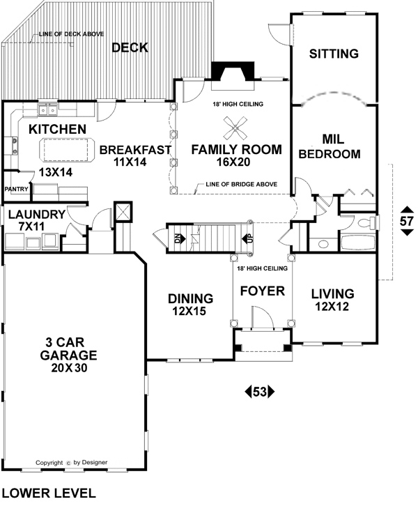 calabash cottage house plans plan pictures bedroom floor