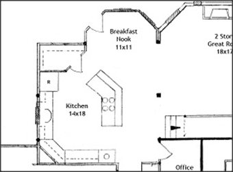 Kitchen Island Floor Plan angled kitchen floor plans angled kitchen cabinets ~ home plan and