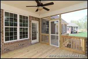 choosing between a screen porch and deck outdoor living design