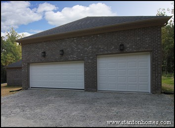How much does a detached garage cost detached garage for Custom house plans cost
