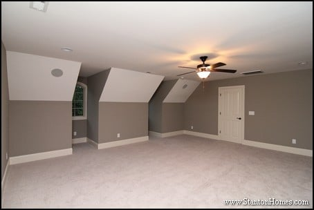 Custom home building and design blog home building tips for Cost of adding a garage and bonus room
