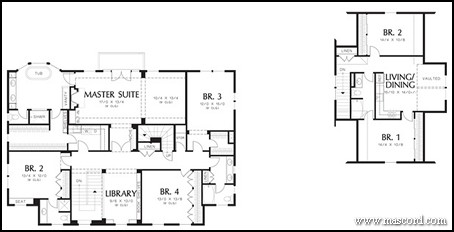 Stanton Floor Plan Together With House Plans Master Suite